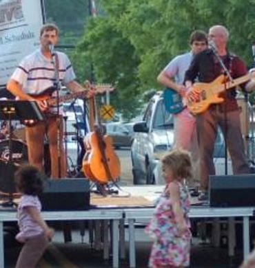 outdoor festival and concert series band